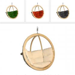 DEOKORK Houpací křeslo ZITA na zavěšení (různé barvy) natural