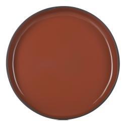 Jídelní talíř GOURMET skořicový Cinnamon CARACTERE