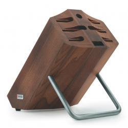 Blok na nože dřevěný na 8 kusů hnědý WÜSTHOF