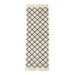 Koberec ze směsi vlny a bavlny Bloomingville Ranto, 70 x 200 cm