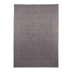 Šedý vlněný koberec Flair Rugs Siena, 120 x 170 cm