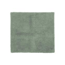 Zelená bavlněná koupelnová předložka Tiseco Home Studio Luca,60x60cm