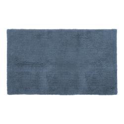 Modrá bavlněná koupelnová předložka Tiseco Home Studio Luca,60x100cm