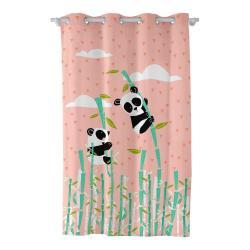 Závěs Moshi Moshi Panda Garden, 135 x 180 cm