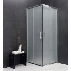 Sprchová kabina MEXEN RIO 80x80 cm jinovatka
