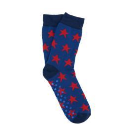 COZY SOCKS Ponožky hvězda 35-38 - modrá