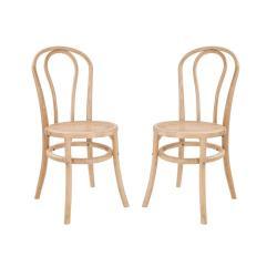 WIENER MELANGE Židle 90 cm set 2 ks