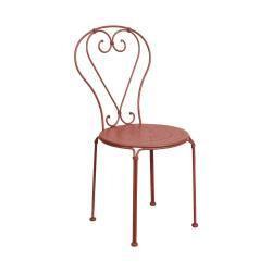 CENTURY Zahradní židle - tm. červená