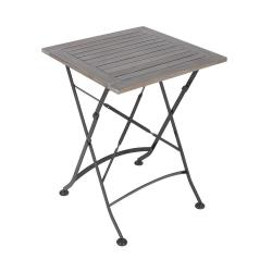 STREET LIFE Zahradní stůl 55 cm - šedá/antracitová