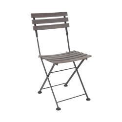 STREET LIFE Skládací židle - šedá/antracitová
