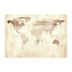 Velkoformátová tapeta Artgeist Precious Map, 400x280cm