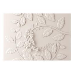 Velkoformátová tapeta Artgeist Cream Paper Flowers, 400x280cm