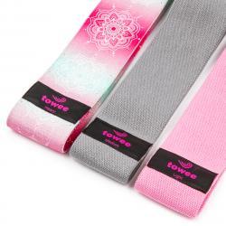 Towee Textilní odporová guma Mandala Booty band, 3 ks