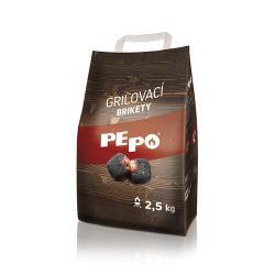 PE-PO Dřevěné brikety, 2,5 kg