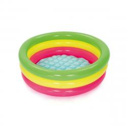 Bestway Nafukovací bazének růžovo-žluto-zelená, pr. 70 cm, v. 24 cm