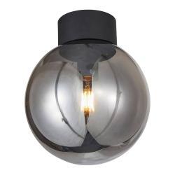 Brilliant Stropní světlo Astro, kouřově šedé stínidlo Ø 25cm