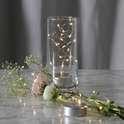 Best Season Dew Drops LED světelný řetěz s baterií, 100 cm