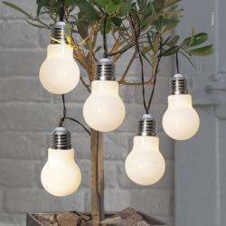 Best Season LED světelný řetěz Glow, baterie, bílý