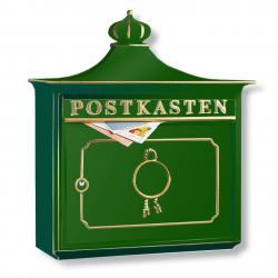 Burgwächter BORDEAUX poštovní schránka hliník odlitek zelená