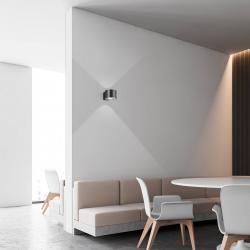BANKAMP BANKAMP Impulse LED nástěnné světlo antracit