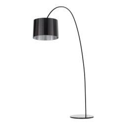 Helestra Helestra oblouková lampa Roxx, černá