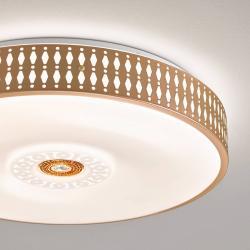 FISCHER & HONSEL LED stropní světlo Coso, stmívatelné, Ø 40 cm