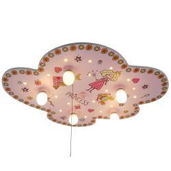 Niermann Standby Stropní světlo Princezna, tvar oblaku