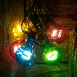 Konstmide CHRISTMAS LED světelný řetěz žhavicího vlákno multicolor 5x