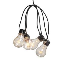 Konstmide CHRISTMAS LED světelný řetěz žhavicího vlákno jantar 5x