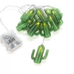 Konstmide SEASON LED světelný řetěz kaktus, na baterie