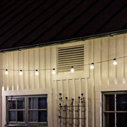 Konstmide CHRISTMAS Světelný řetěz Biergarten 10 žárovek teplá bílá