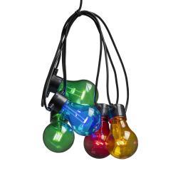 Konstmide CHRISTMAS Světelný řetěz Biergarten 20 barevných LED žárovek