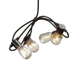 Konstmide CHRISTMAS Světelný řetěz Biergarten 20 kapek čirá jantar