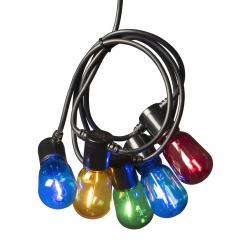 Konstmide CHRISTMAS Světelný řetěz Biergarten 20 LED kapka barevný