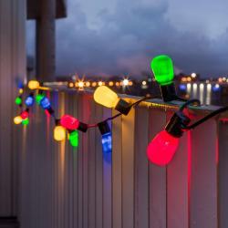 Konstmide CHRISTMAS Světelný řetěz Biergarten 40 LED pestrý, opálová