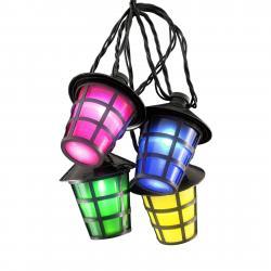 Konstmide SEASON Venkovní světelný řetěz Lampion, 20 LED pestrý