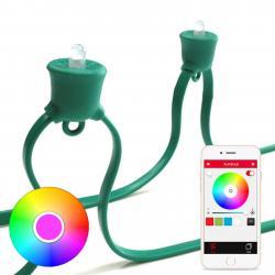 MiPow MiPow Playbulb String LED světelný řetěz, zelená