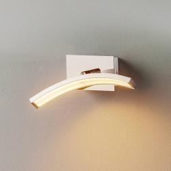Lis Poland LED nástěnné světlo Largo oblouk hliník