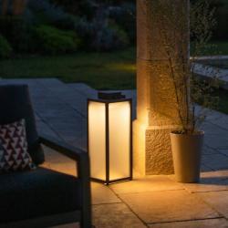 LES JARDINS LED solární lucerna Tradition, výška 65 cm