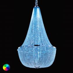 Masiero Proutěný lustr Ilaria s RGB LED