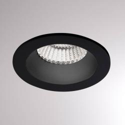 Molto Luce Podhledové světlo Chicco Round 7W 30° 3000K černá