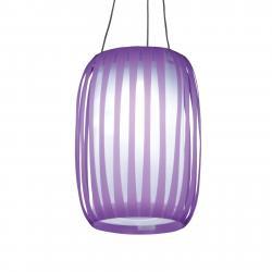 Näve LED Solární světlo Lilja ve tvaru lampionu, lila