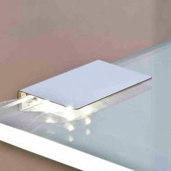 Nino Leuchten Skleněné osvětlení podlahy LED klip 2ks teplá bílá