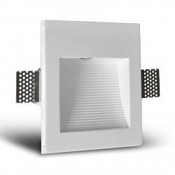 Pamalux LED nástěnné zapuštěné světlo Zimant ze sádry