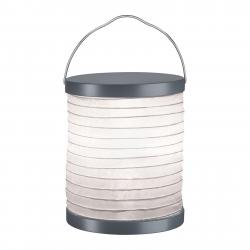 Paulmann Paulmann Mobile Lampion stolní lampa baterie šedá