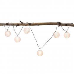 Paulmann Paulmann Mobile Lampion světelný řetěz 7zdroj bílá