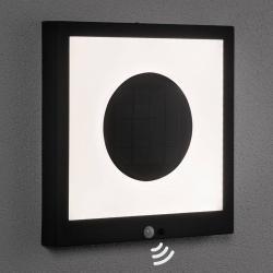 Paulmann Paulmann LED solární panel Taija senzor 30 x 30 cm
