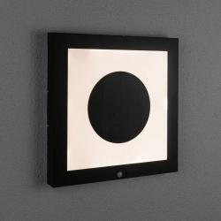 Paulmann Paulmann LED solární panel Taija, senzor 40 x 40cm