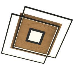 Q-SMART-HOME Paul Neuhaus Q-AMIRA LED stropní světlo, dřevo