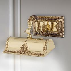 RIPERLamP Osvětlení obrazu Capitel zlatá leštěná, 20cm